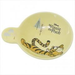 Japan Disney Ceramics Sauce Plate - Tigger