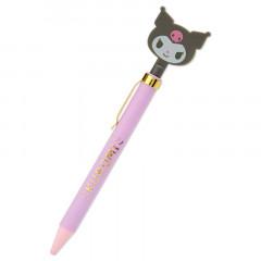 Japan Sanrio Big Head Ball Pen - Kuromi