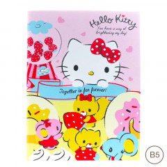 Sanrio B5 Staple Notebook - Hello Kitty
