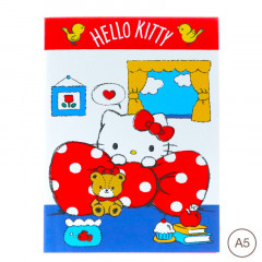 Sanrio A5 Staple Notebook - Hello Kitty