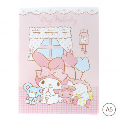 Sanrio A5 Staple Notebook - My Melody