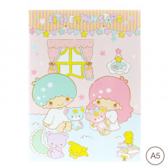 Sanrio A5 Staple Notebook - Little Twin Stars