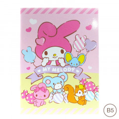 Sanrio B5 Staple Notebook - My Melody
