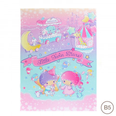 Sanrio B5 Staple Notebook - Little Twin Stars