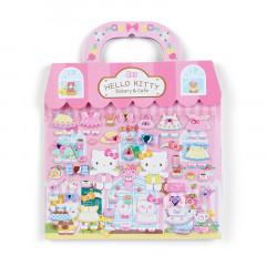 Japan Sanrio Sticker Bag - Hello Kitty Bakery Cafe