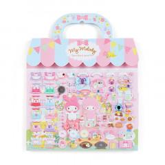 Japan Sanrio Sticker Bag - My Melody Bakery Cafe