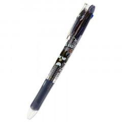 Japan Sanrio Clip-On Slim 3 Color Multi Ball Pen - Bad Badtz-Maru