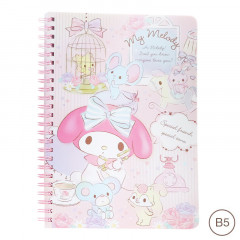 Sanrio B5 Twin Ring Notebook - My Melody