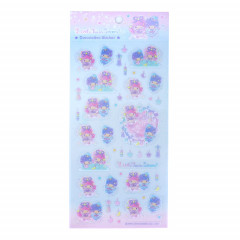 Japan Sanrio Decorative Sticker - Little Twin Stars