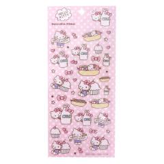 Japan Sanrio Decorative Sticker - Hello Kitty Cupcake