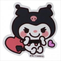 Japan Sanrio Vinyl Mini Sticker - Kuromi