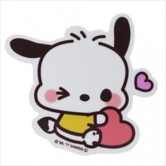 Japan Sanrio Vinyl Mini Sticker - Pochacco