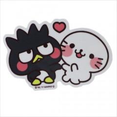 Japan Sanrio Vinyl Mini Sticker - Bad Badtz-maru
