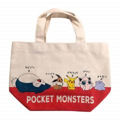 Japan Pokemon Shopping Bag - Pikachu & Friends