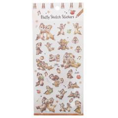 Japan Disney Masking Sticker with Gold Foil - Chip & Dale