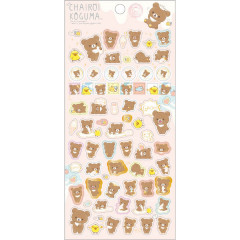 Japan San-X Rilakkuma Bear Seal Sticker - Chairoikoguma Baby