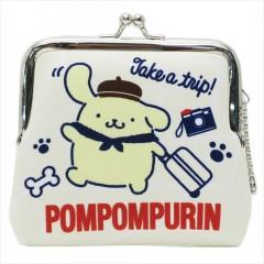 Japan Sanrio Keychain Coin Purse - Pompompurin
