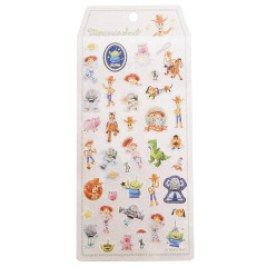 Japan Disney Embroider Sticker - Toy Story