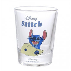 Japan Disney Mini Glass - Stitch & Beach