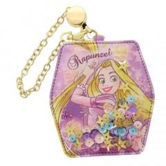 Japan Disney Pass Case Holder - Rapunzel Sequin