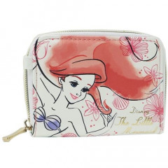Japan Disney Bellow Wallet - Ariel