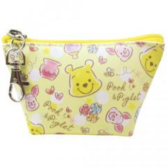 Japan Disney Triangular Mini Pouch - Pooh & Piglet