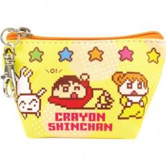 Japan Crayon Shin-chan Triangular Mini Pouch - Bit Style