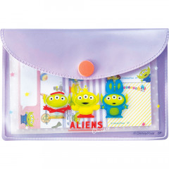 Japan Disney Toy Story Sticky Notes & Folder Set - Little Green Men