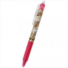 Japan Disney FriXion Erasable Gel Pen - Chip & Dale / Pink