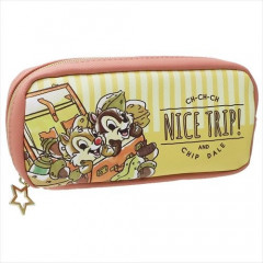 Japan Disney Pen Case Pouch - Chip & Dale