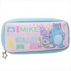 Japan Disney Pen Case Pouch - Monsters Inc