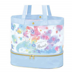 Japan Disney Tote Bag - Little Mermaid Ariel Light Blue