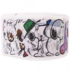Japan Peanuts Peripetta Roll Sticker - Snoopy