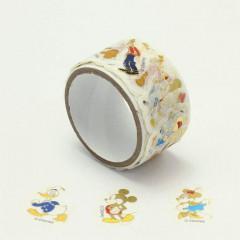 Japan Disney Peripetta Roll Sticker - Mickey & Friends