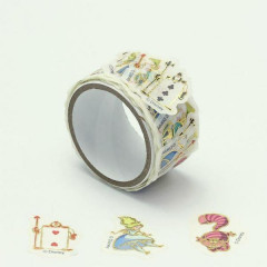 Japan Disney Peripetta Roll Sticker - Alice in Wonderland Card