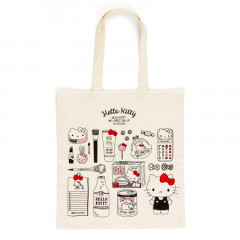 Japan Sanrio Cotton Shopping Bag - Hello Kitty