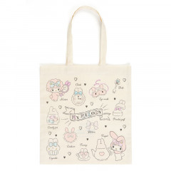 Japan Sanrio Cotton Shopping Bag - My Melody