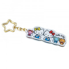 Japan Sanrio Acrylic Charm Key Chain - Hello Kitty