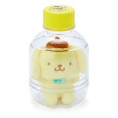 Sanrio Key Chain Plush with Bottle - Pompompurin