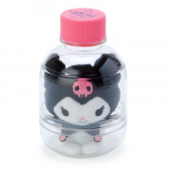 Sanrio Key Chain Plush with Bottle - Kuromi