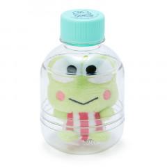 Sanrio Key Chain Plush with Bottle - Kerokerokeroppi