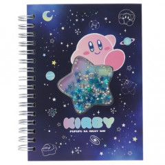 Japan Kirby A6 Twin Ring Notebook - Star Night