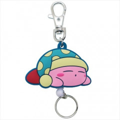 Japan Kirby Rubber Reel Key Chain - Dreamy