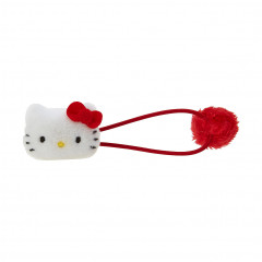 Sanrio Plush Hair Tie - Hello Kitty