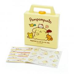 Japan Sanrio Memo Pad with Case - Pompompurin