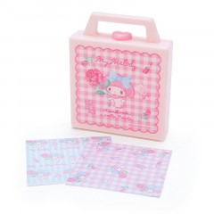 Japan Sanrio Memo Pad with Case - My Melody