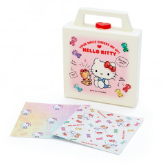Japan Sanrio Memo Pad with Case - Hello Kitty