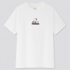 Sanrio UT Graphic White T-Shirt - Hello Kitty