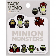 Japan Minions Sticky Notes - Minion Monsters