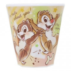 Japan Disney Acrylic Cup - Chip & Dale Funtime